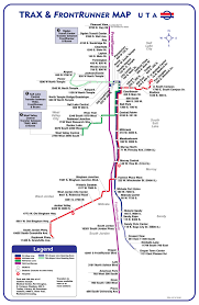 Map Of Provo Utah Official Map Trax And Frontrunner Rail Map Salt Transit Maps