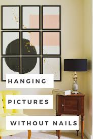 hang pictures without nails how to hang pictures without nails sarah akwisombe