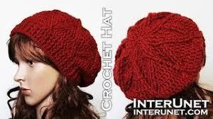 redheart pattern lw2741 slightly slouchy crochet hat tutorial video download mp4 3gp flv