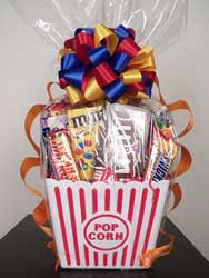 popcorn baskets gourmet and theme gift baskets
