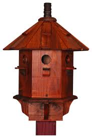 bird houses yellow finch birdhouse primitive traditional