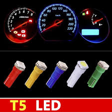 dashboard led light bulbs t5 1 smd 5050 dashboard wedge 1 led car light bulb auto l t5 led