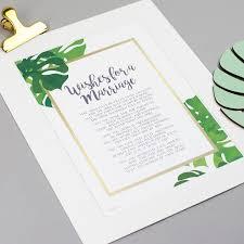anniversary present wedding present anniversary gift poem print by bespoke verse