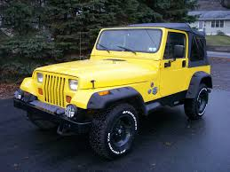 yellow jeep wrangler unlimited 1995 jeep wrangler unlimited news reviews msrp ratings with
