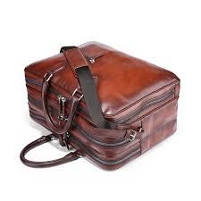 Handmade Leather Tote Bag - aliexpress buy terse 5 moq leather travel bag handmade