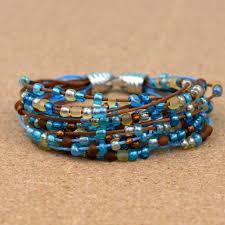 easy beaded bracelet images Easy boho beaded bracelet happy hour projects jpg