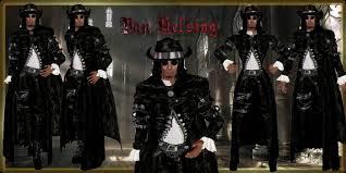 Van Helsing Halloween Costume Marketplace Ad Van Helsing Gothic Rock Promo