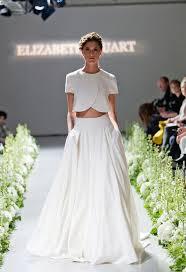wedding dress inspiration gorgeous crop top wedding dress inspiration bridal musings