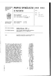 dopravního u2014 značka u2014 databáza patentov slovenska