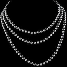 large silver beads necklace images Antiqued sterling vogt silversmiths jpg
