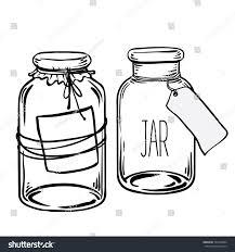glass bottles vector illustration on aged stock vector 335440844