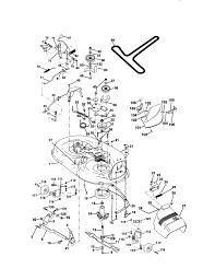 craftsman lawn tractor parts model 917271024 sears partsdirect