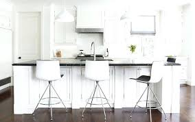 kitchen island stools with backs modern bar stools back curved white acrylic modern bar stools