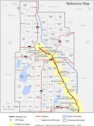 Minneapolis Light Rail Map Public Transit And Urban Redevelopment The Effect Of Light Rail