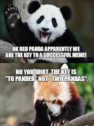 Funny Panda Memes - so close imgflip