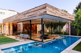 small lap pools this house has a sunken living room so people can be at the same
