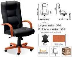 fauteuil de bureau cuir fauteuil bureau bois fauteuil de bureau cuir et bois colaper com