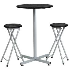 counter height pub table bar height table and stool set highboy table com