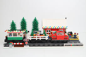 moc and winter station lego tech