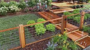 decorative garden fencing ideas image of vegetable loversiq