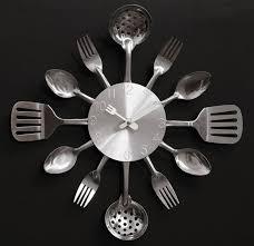 Restaurant Kitchen Knives A002 Quartz Mute Wall Clocks Knife Fork Spoon Originality Clock