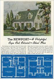 cape code house plans classic cape cod house plan 1939 newport by lewis manufacturing