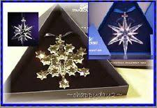 swarovski 2004 annual snowflake ornament ebay
