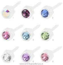 plastic earrings hypoallergenic blomdahl plastic stud earrings