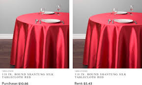linen rental table linen rental