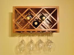 wall wine rack glass holder custom made scavonesworkshop dma