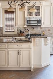 Kitchen Painting Ideas With Oak Cabinets Kitchen Cream Kitchen Paint Creamy Kitchen Cabinets Dark Brown