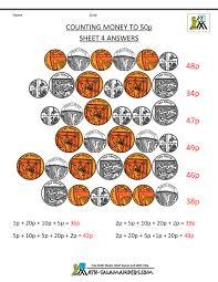 free money worksheets uk coins