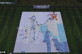 Square Meter 2 045 Square Meter Photo Mosaic In Chongqing Breaks World Record 1