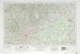 Map Alabama Georgia Historical Topographic Maps Perry Castañeda Map