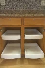 kitchen cabinet sliding shelves home design styles