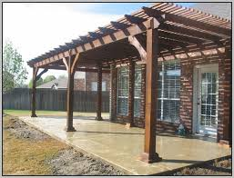 Attached Patio Cover Designs Free Attached Patio Cover Plans Patios Home Decorating Ideas