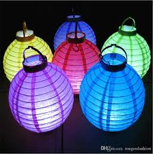 Sale Battery Operated Light Up Paper Lanterns Chinese Led Paper