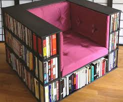 Swinging Bookcase Chair