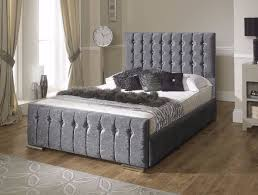 Ottoman Storage Beds Uk by Free Uk Delivery Hilton Crushed Velvet Luxury Ottoman Storage