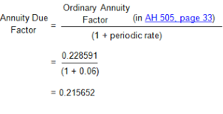 Ordinary Annuity Table Time Value Of Money Board Of Equalization