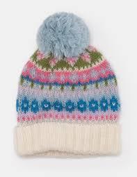 fair isle fair isle hat a0135 hats scarves gloves at boden