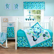 Nursery Bedding Sets Boy Happy Bright Blue And Green Colors For Baby Boys Nursery Navy