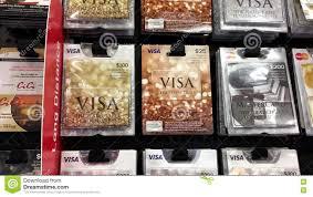 woman picking twenty five dollars visa gift card stock footage