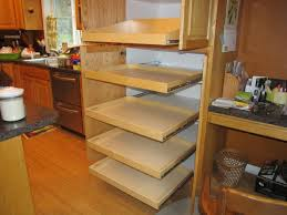 Slide Out Racks For Kitchen Cabinets Shop Pull Out Trash Cans At Lowes Inside Elegant Pull Out Drawers
