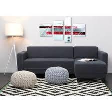 canapé mistergooddeal finlandek canapé d angle réversible kulma 4 places 205x141x70 cm