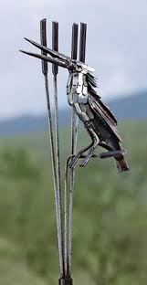 scrap metal bird really cool crafts and the like