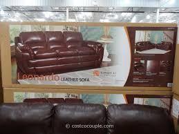 Recliner Sofa Costco Living Room Cheers Power Recliner Manwah Windsor Leather Costco