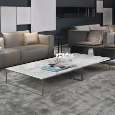 rectangular marble coffee table porto square marble coffee table chrome