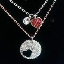 swarovski necklace set images Swarovski jewelry brand new double necklace set poshmark jpg