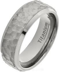 titanium wedding rings uk 8mm planished titanium ring ti22